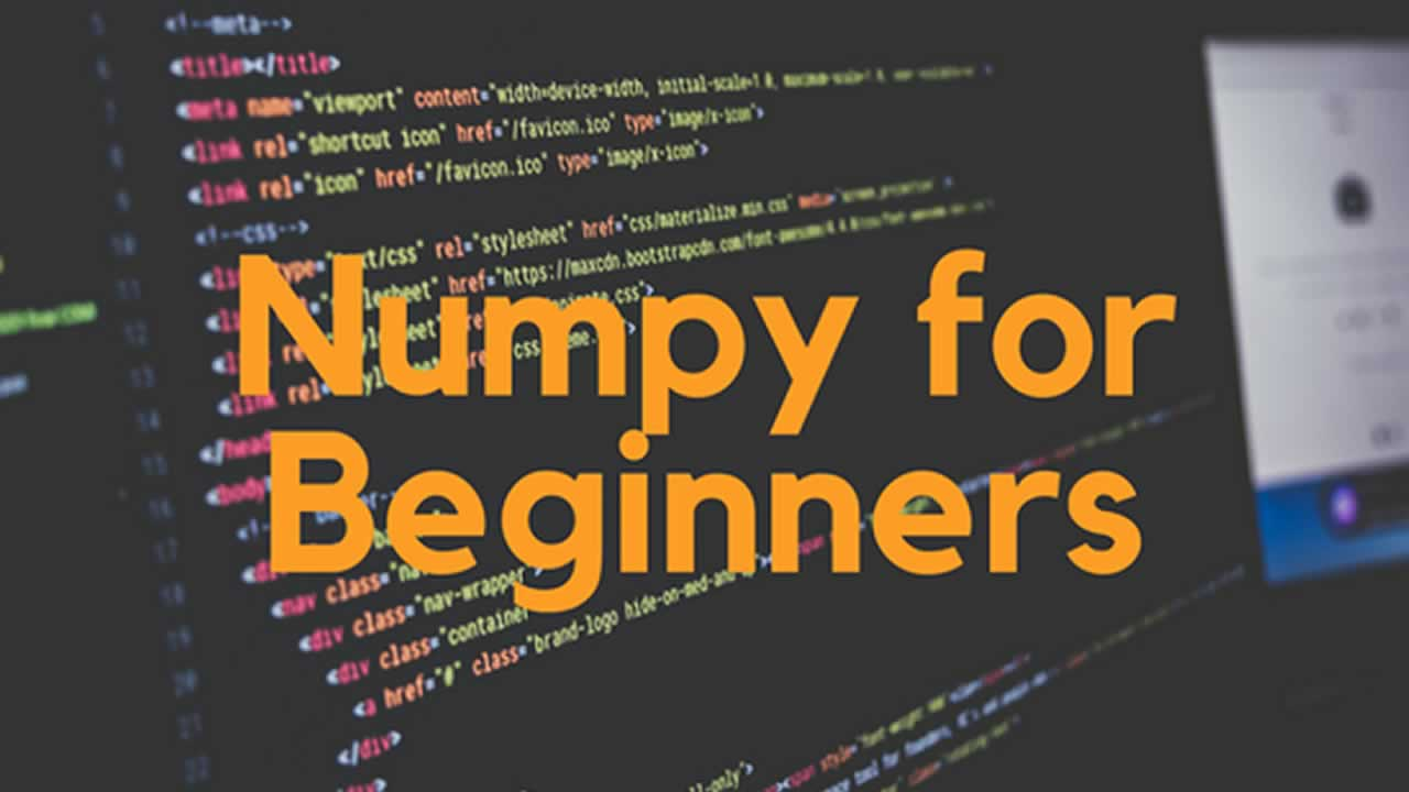 NumPy Tutorial for Beginners