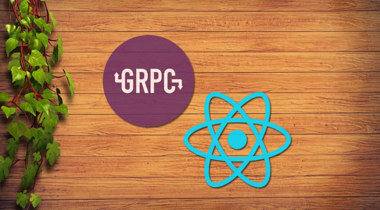 How to use gRPC-web with React