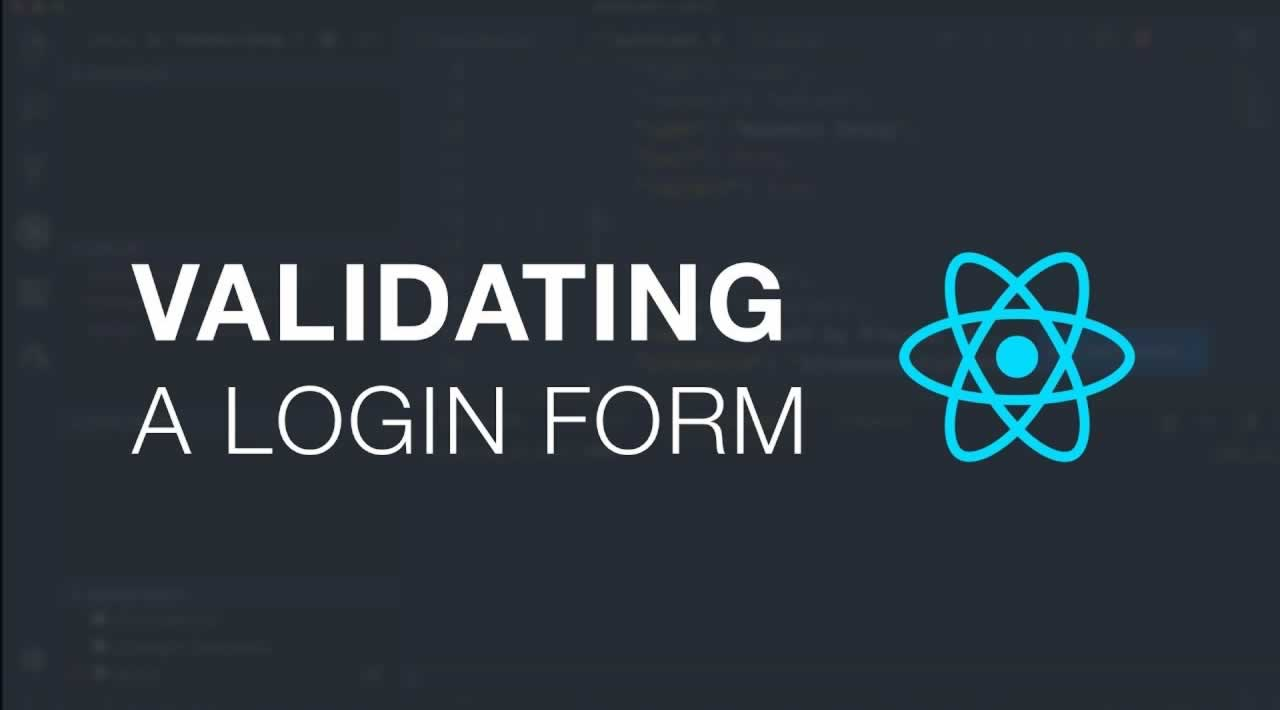How to do login form validation in Reactjs