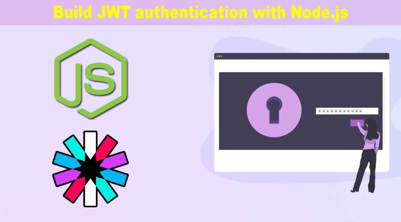 Build JWT authentication with Node.js