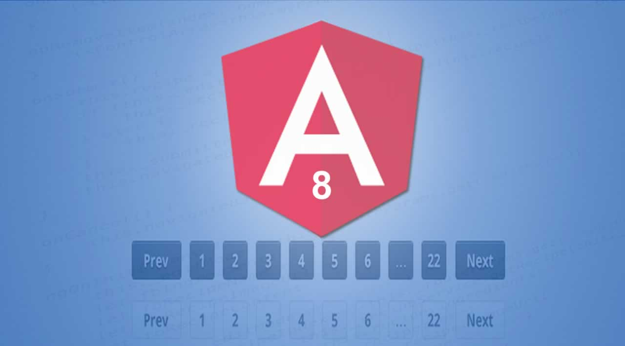 Angular 8 Pagination Example and Tutorial