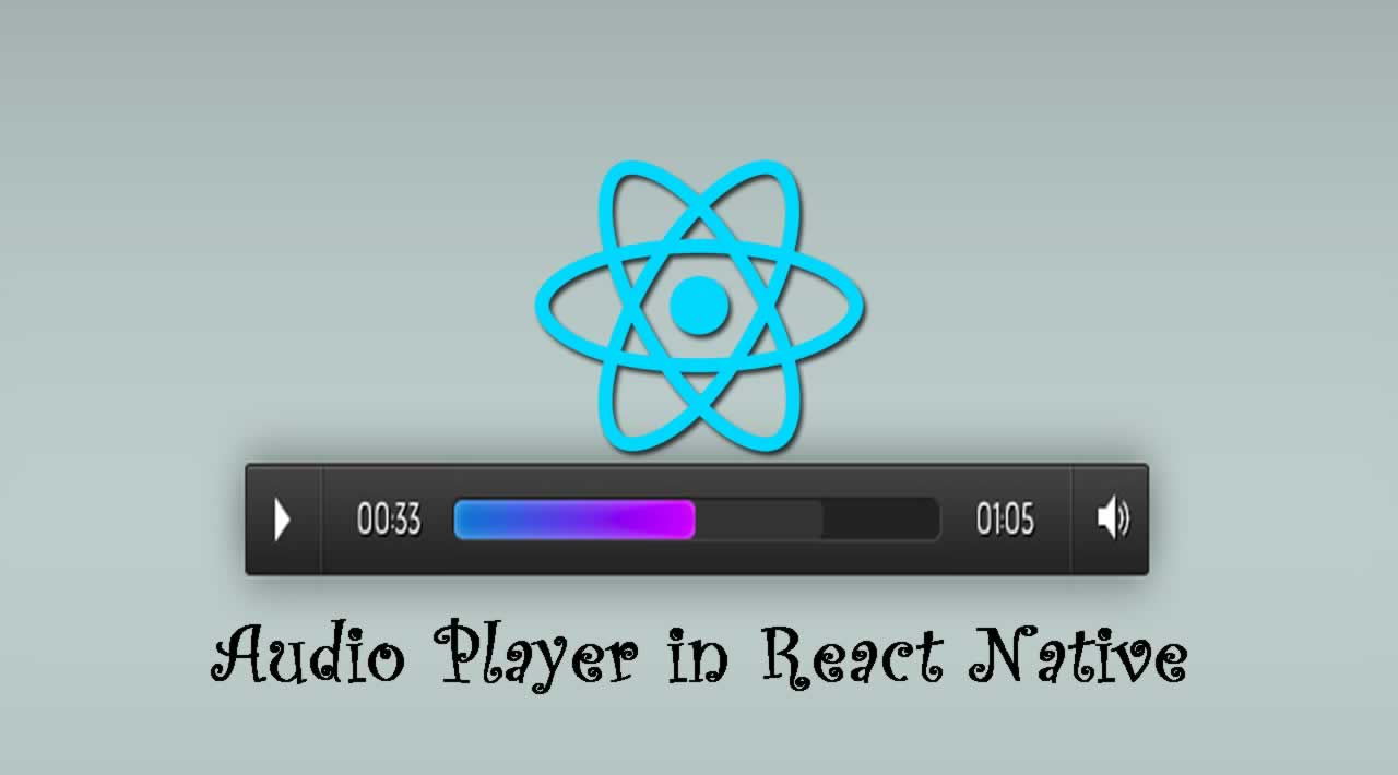 Creating an Audio Player in React Native