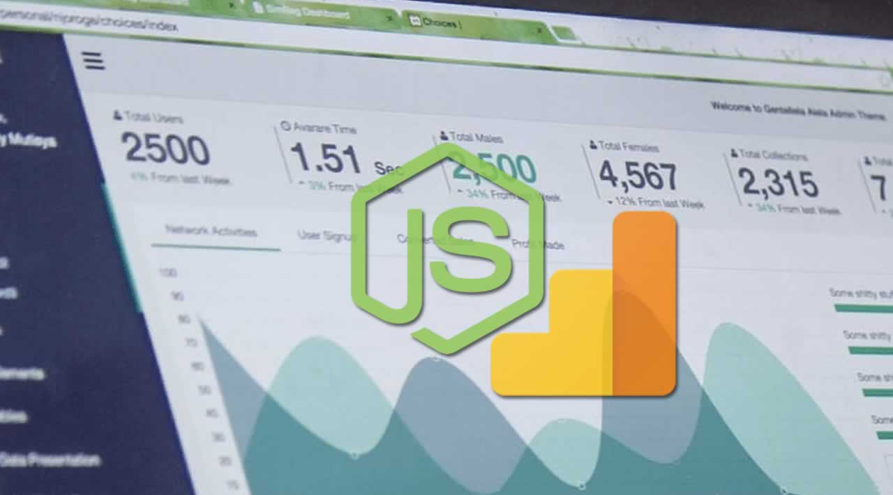 How to build web analytics dashboard with Node.js