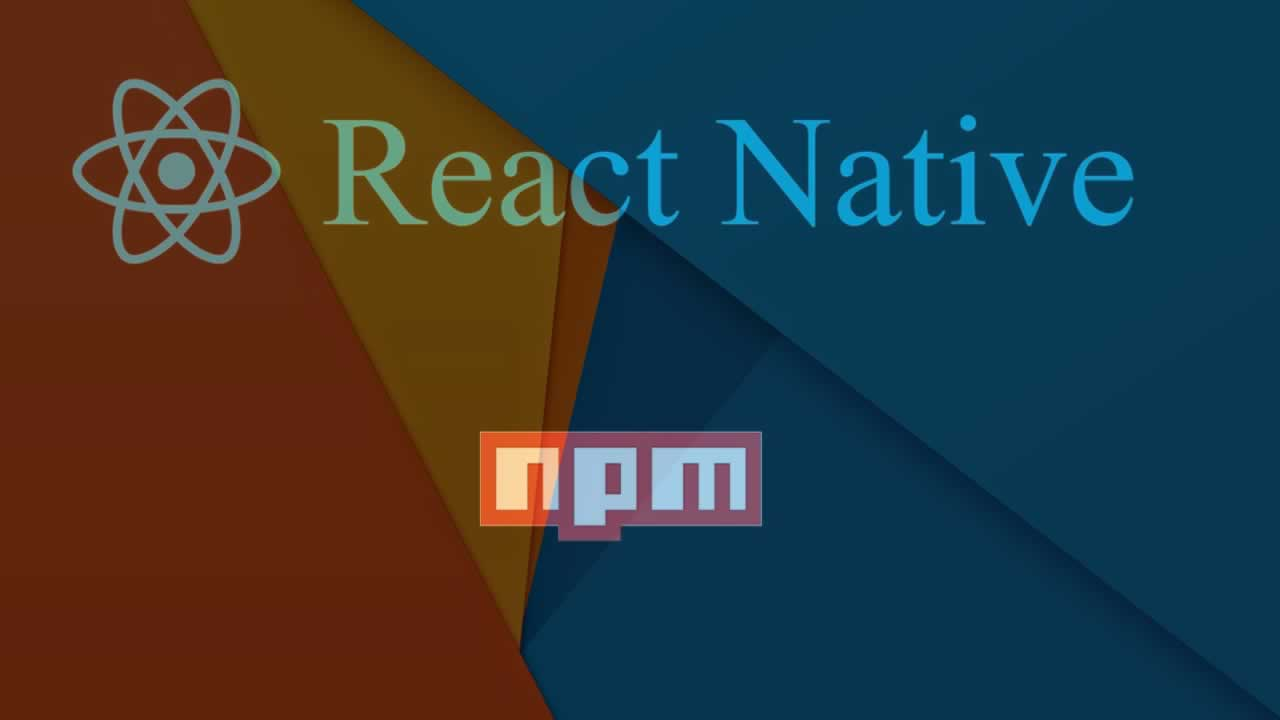 How to publish a React Native component to NPM