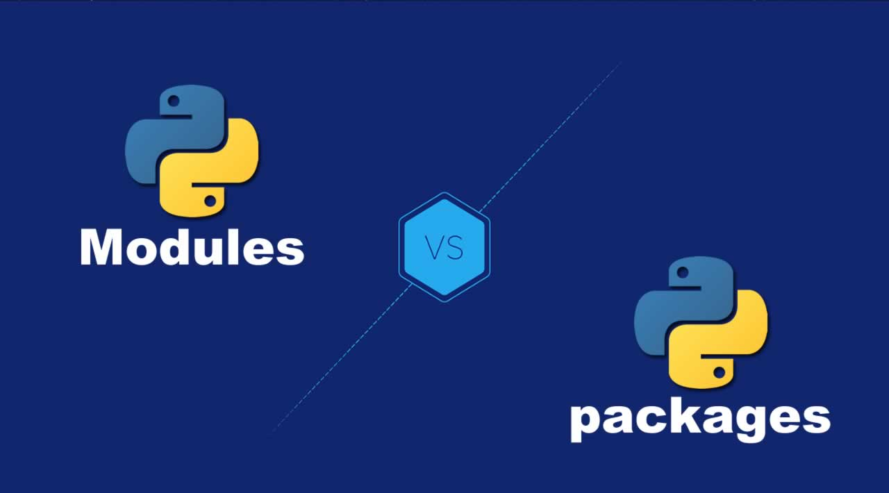 Building a Python project with Modules and packages