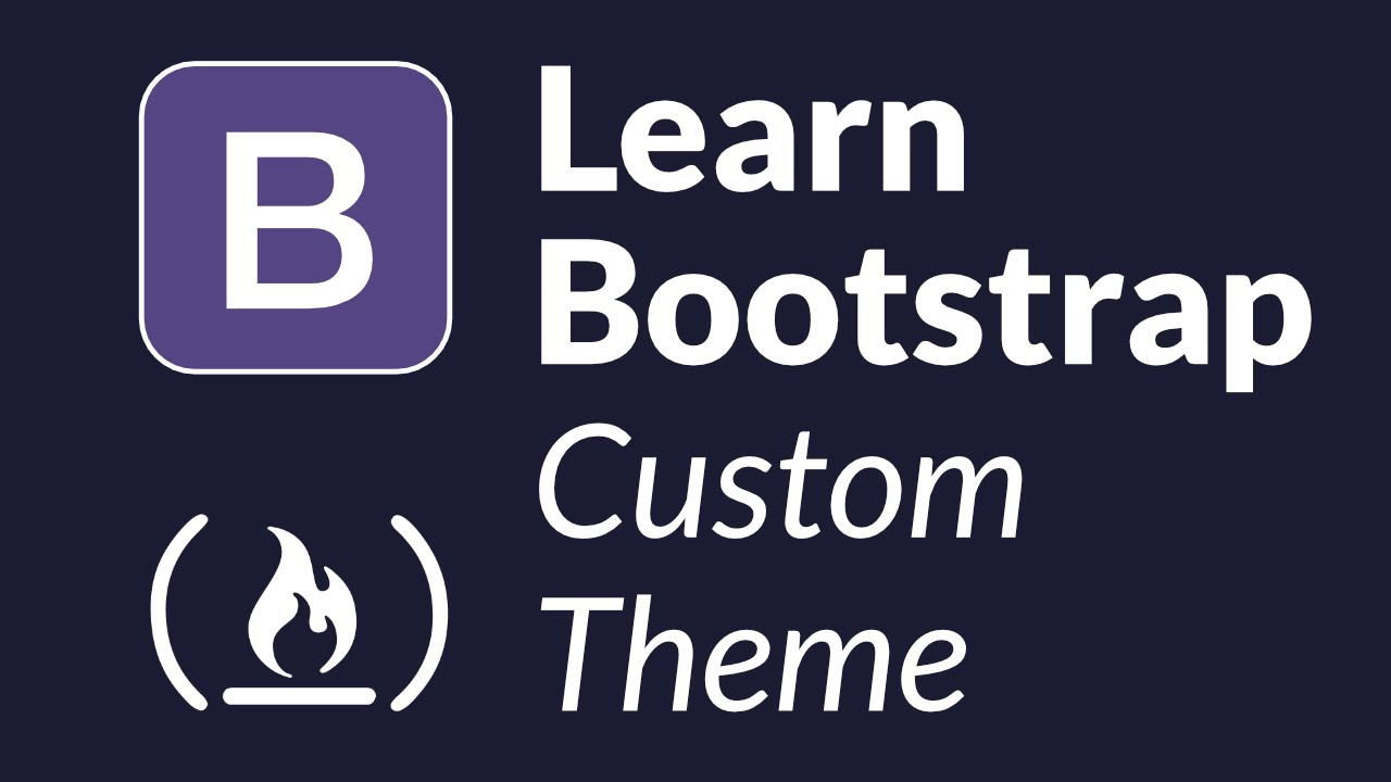 Learn Bootstrap by creating a custom admin theme