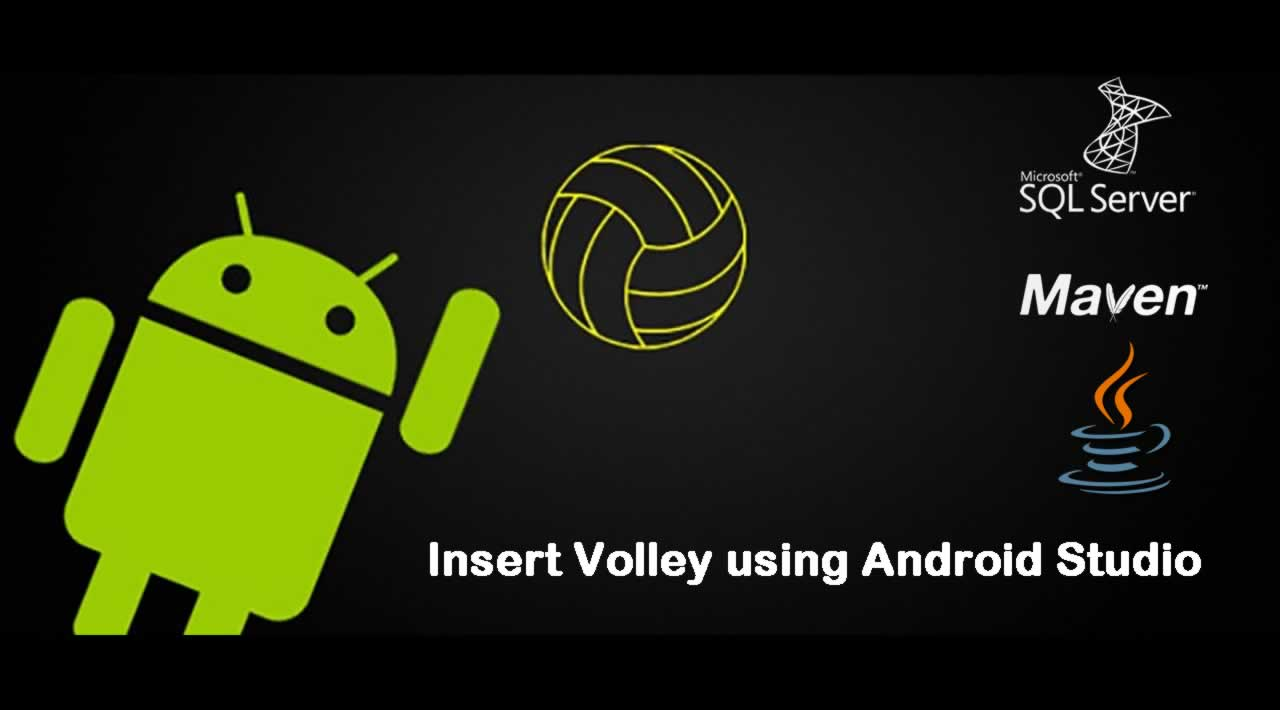 How to Insert Volley using Android Studio