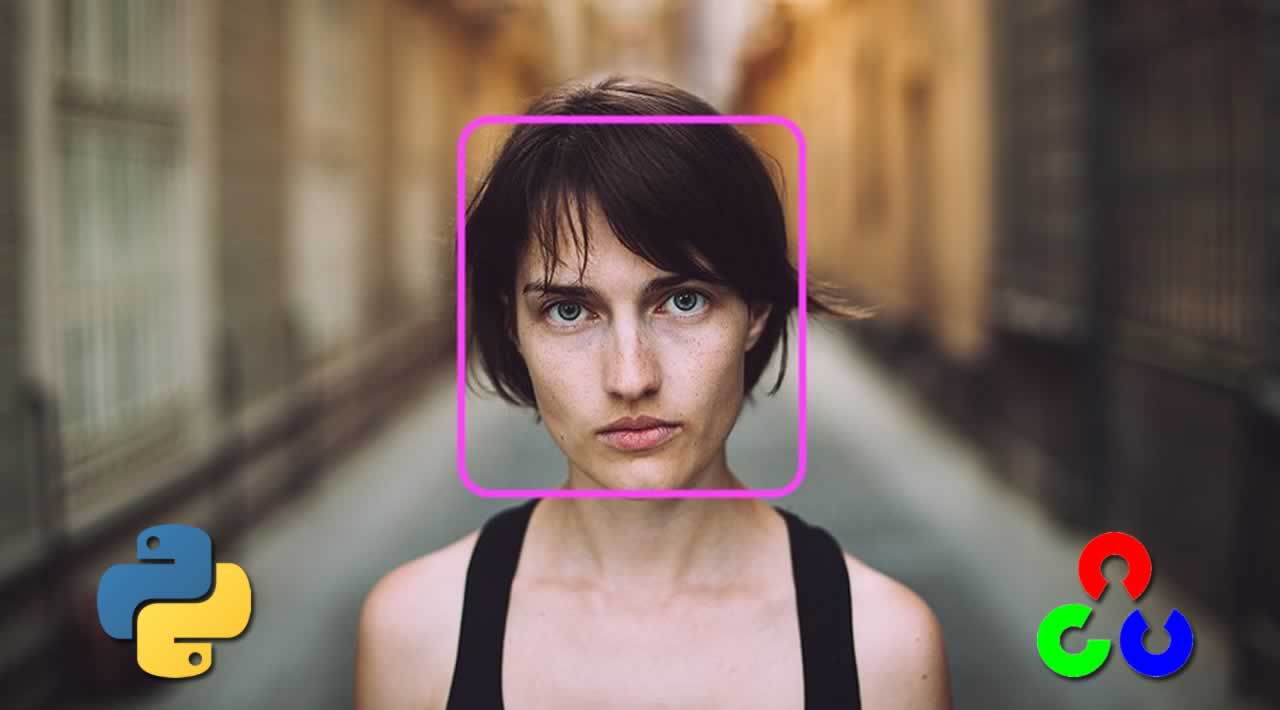 Face Detection in Python using OpenCV with Haar Cascade Classifiers