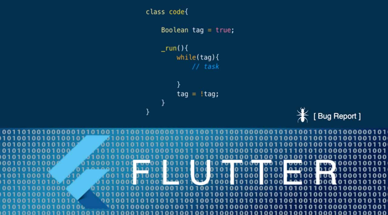 Flutter: How to Bug Report
