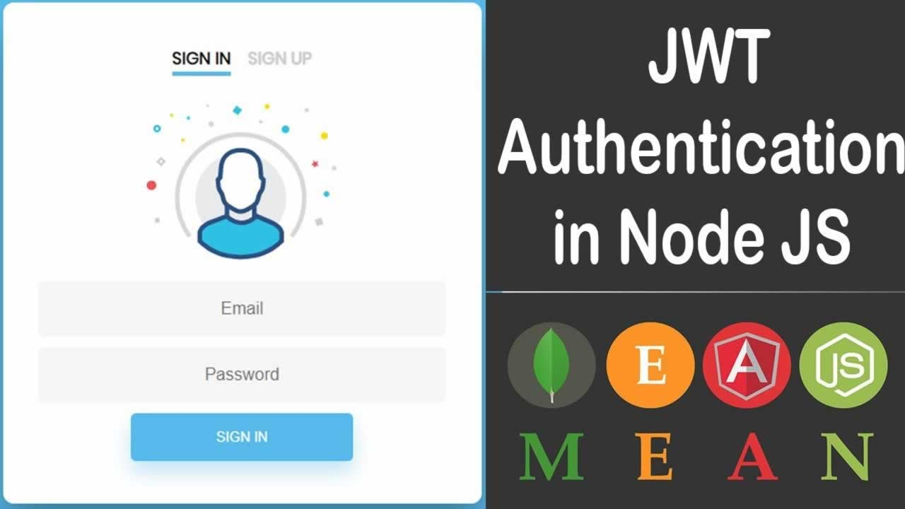 How to User Authentication with Node.js and MEAN stack